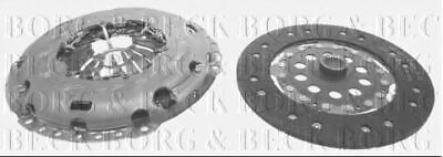 Borg & Beck Kit Embrayage 2 IN 1 pour Volvo Closed Tout-Terrain Véhicule XC60