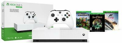 Microsoft NJP-00024 Xbox One S 1TB All-Digital Edition Gaming Console Forza
