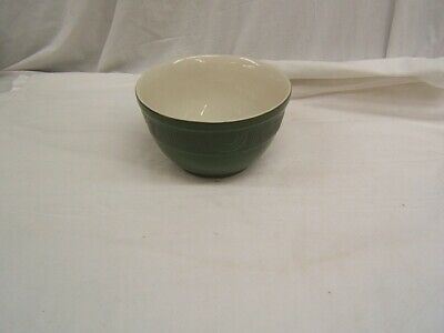 Hall Quality Kitchenware Art Deco Rib/Arch Green Large Mixing Bowl USA VGC