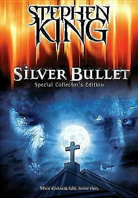 Silver Bullet - Stephen King (DVD)  LIKE NEW DISC + COVER ART ONLY - NO CASE