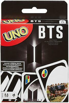 Uno Bts Card Game Deck Party Fun Family Match Play Action Party