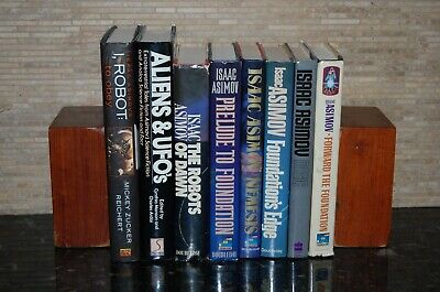 Lot of 8 Isaac Asimov Hardcovers Foundation, Robots, Magic, Science Fiction+++