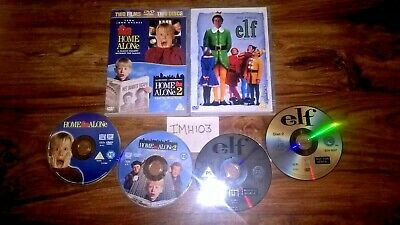 Home Alone 1 & 2 R2 2Dvd Set + Elf R2 2Dvd Set Macaulay Culkin Will Ferrell