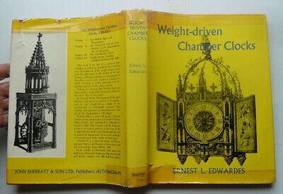 Weight Driven Chamber Clocks By Ernest L, Edwards