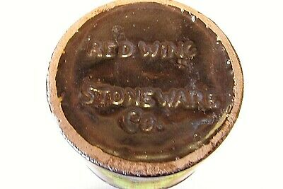 Old Antique  Red Wing  Stoneware Crock Mason Jar