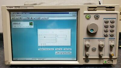Agilent 16702B Logic Analysis System