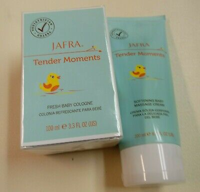 Jafra Tender Moments Fresh Baby Cologne. Cream. ORIGINAL Unisex. 2product