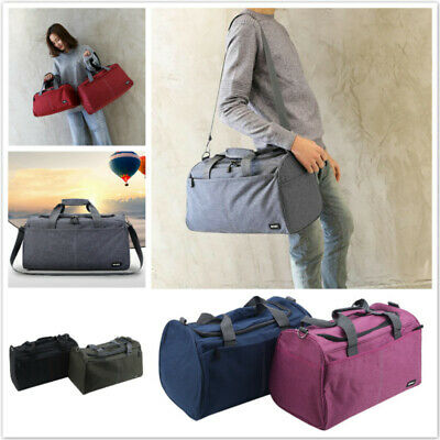 Travel Overnight Duffle Luggage Sports Gym Bag Packing Tote Waterproof LD