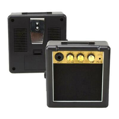 US Portable Mini Guitar Amplifier Speaker Amp 5W for Acoustic Electric Guitars