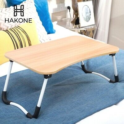 IFolding Lap Desk Portable Standing Bed Desk Computer Laptop Stand Lap Table