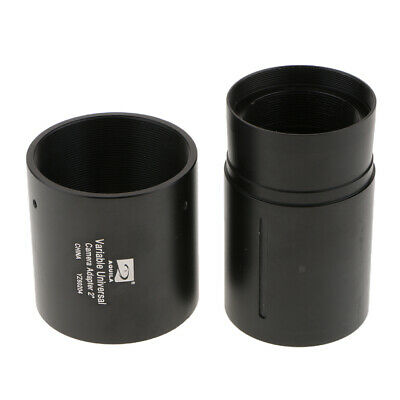 """2"""" Variable Projection DSLR Camera Adapter Telescope Eyepiece Accessory"""