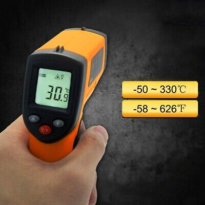 LCD Digital Temperature IR Infrared Thermometer Portable Non-Contact Gauge UK