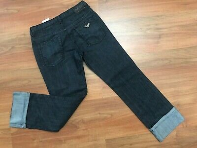 Boys AUTHENTIC Blue ARMANI REGULAR JEANS (age7-8) *NICE COND*
