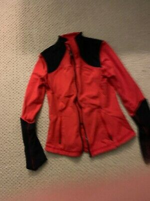 Lululemon Define Jacket Full Zip Red And black Women's 8