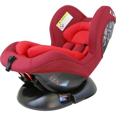 Maxus Baby Carseat Group 0+ 1 (CS002 - Red) New Born Bab Carseat With Side Pro