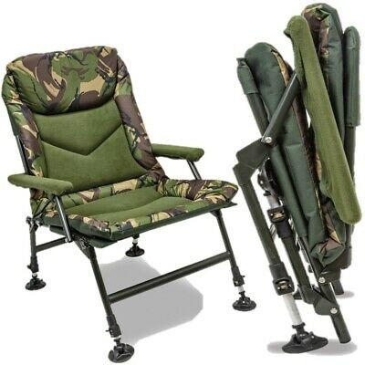 Saber C-Class Sleep System Bedchair Carp Fishing Camping Bed Chair Accessory UK