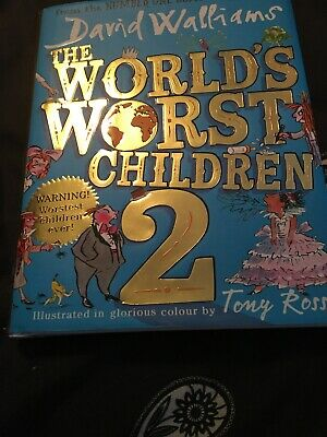 The World's Worst Children 2 by David Walliams (Hardback, 2017)