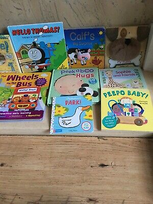 Joblot Touch And Feel Books And Big Flap Books For Boys