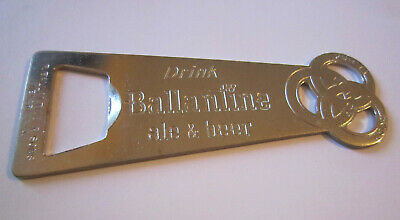 Vintage Ballantine Ale & Beer Metal Bottle Opener