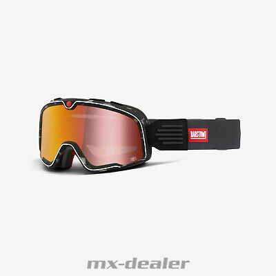 2020 100 % Prozent Barstow GASBY Caferacer Scrambler Classic Cross MX Brille