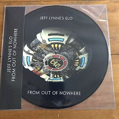 "Jeff Lynne's ELO - From Out of Nowhere 12"" Picture Disc Vinyl Lp"