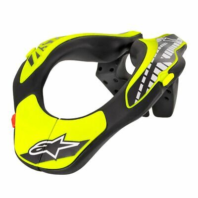 Go Kart Alpinestars Neck Support Black / Yellow Youth Race Racing Karting