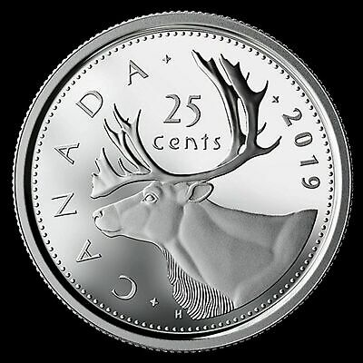2019 Canada Pure SILVER 25 Cents Coin from 75th Anniv. of D-Day PROOF Set