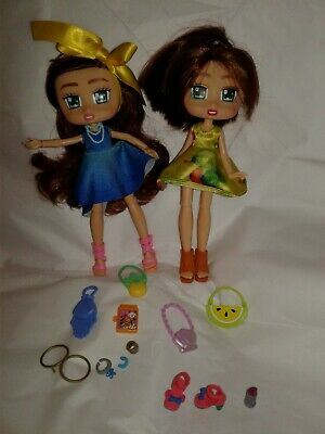 Boxy Girls Doll Lot of 2 Dolls and Accessories