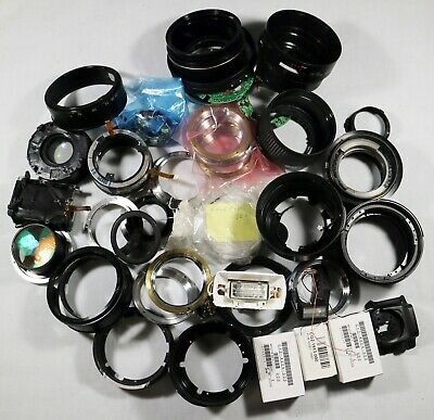 Joblot of Canon, Sigma Lens Parts + other parts Repair Service