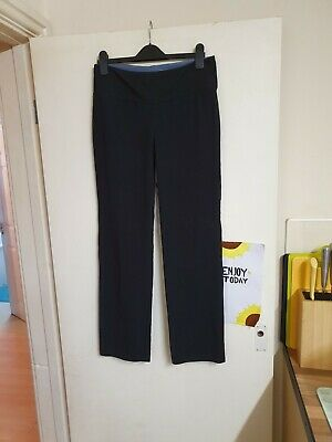 Black yoga fitness trousers size m approx 12 by The Girls