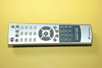 MAGIC SING Remote for Duet Wireless Karaoke Systems. REMOTE ONLY