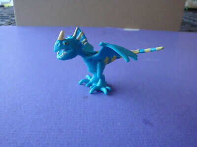 """BLUE  Deadly Nadder 2 1/2"""" 2013 How to Train Your Dragon Movie Toy Figure"""