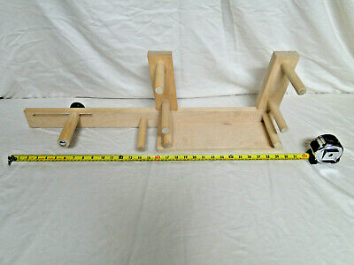 Inkle Loom Schacht Spindle Wood Card Weaving Maple