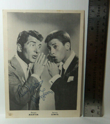 "1950s Comedy Duo DEAN MARTIN /& JERRY LEWIS /""IN A TUX/"" PHOTO 006"