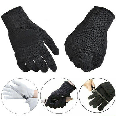 2 PAIRS MARIGOLD N840 NITRILE COATED GLOVE LONG SAFETY CUFF made with kevlar
