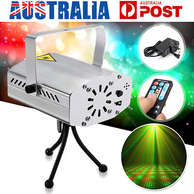 Mini Laser Projector Stage Lights LED RGB Lighting DJ Party Home Garden