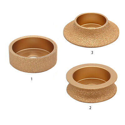 Thickened Brazed Diamond Grinding Wheel Accessories Disc Shape Abrasive Tool