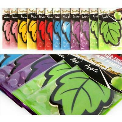 24Pcs Vacuum Scented Car Air Fresher Dust Bags Home Cleaner Fragrance Leaf Shape