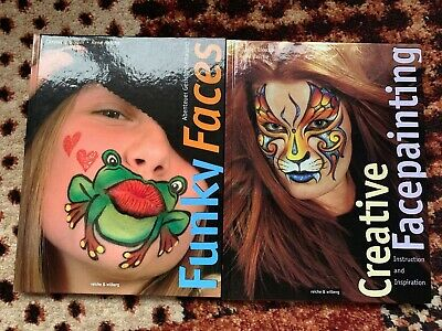 Reiche & Wilberg Creative Facepainting & Funky Faces Books Face Painting