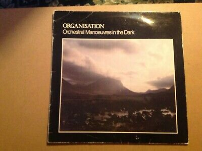 ORCHESTRAL MANOEUVRES IN THE DARK - ORGANISATION 1st Press   LP    Great Copy