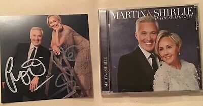 Martin Kemp & Shirlie In The Swimg Of It Cd Brand New And Signed Spandau Ballet