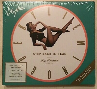Kylie Minogue Step Back In Time 3Cd Edition Cd Brand New And Sealed F9 Megamix