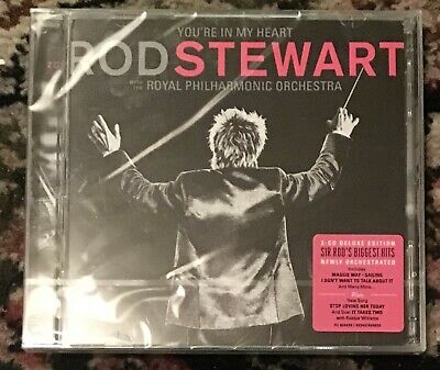Rod Stewart Your In My Heart Cd Brand New And Sealed