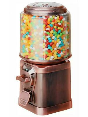 Stunning 20p Coin Operated Sweet Vending Machine ( Copper coloured ) Limited Ed