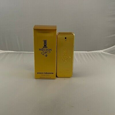 Paco Rabanne 1 Million Cologne - 3.3 / 3.4 oz / 100 ml EDT Spray New In Box