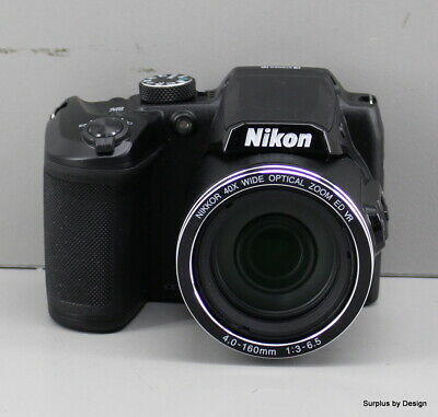 Nikon COOLPIX B500 Compact Digital Camera, 16 MP, 40x Optical Zoom, 3.0""