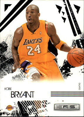 2009-10 Rookies and Stars Los Angeles Lakers Basketball Card #39 Kobe Bryant