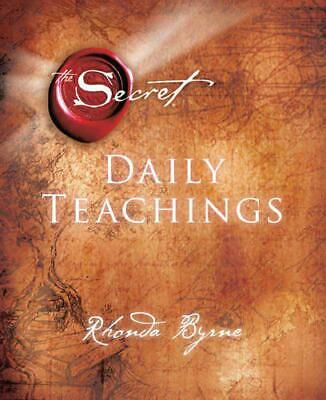 The Secret Daily Teachings by Byrne, Rhonda, Hardcover Used Book, Good, FREE & F