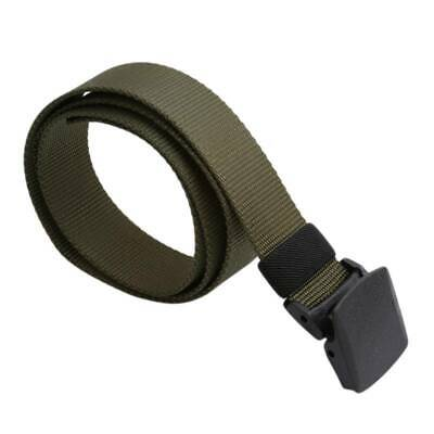 Outdoor Mens Belt Military Belt Tactical Army Hunting Utility Waistband LC