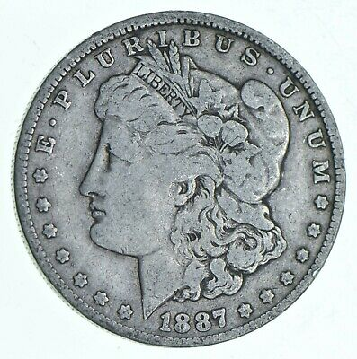 Early 1887-O Morgan Silver Dollar - 90% US Coin *008